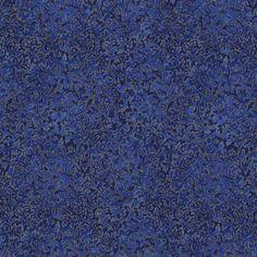 Robert Kaufman Fabrics: EYJM-6644-11 ROYAL from Fusions® 6644