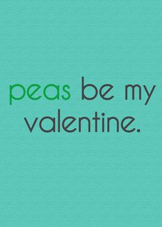 I mean, please (peas?!), could @Shauna Nep get any cuter?