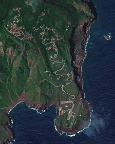 Zion's Hill, also known by its former name Hell's Gate, is a town on the Dutch Caribbean island of Saba. It is the first town one reaches after leaving Juancho E. Yrausquin Airport, which has the. Image Of The Day, Aerial View, Continents, The Good Place, Caribbean, City Photo, Dutch, Gate, Commercial