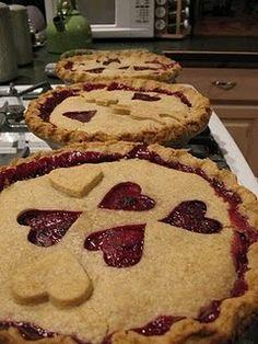 Instead of a groom's cake, groom pie? Not everybody wants cake..