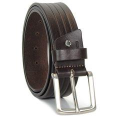 Cintura da uomo tela e Camoscio Blu riporti Grigio artigianale 4cm
