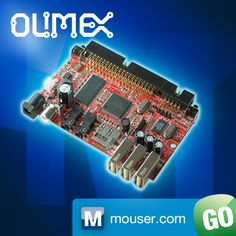 Olimex's OLinuXino-MINI Single Board Computer Now at Mouser http://mou.sr/XrKDS3