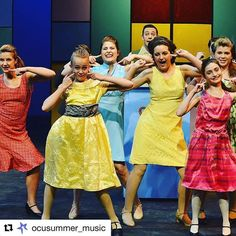 #Repost @ocusummer_music with @repostapp ・・・ Who's got the  #nicestkidsintown ... well US of course and #nbchairspraylive TOMORROW NIGHT!! We are supporting our #favorite @kchenoweth and showcasing our amazing 2014 #HairsprayJR performance. #JuniorEffect #musicaltheater #youcantstopthebeat