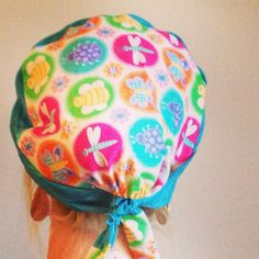 Bugs!!! surgical scrub hat at www.alikaps.com would be great for a nurse anesthetist, crna, or any nurse or surgeon! Sterile meets style!