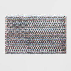 Bathroom Rugs And Mats, Bath Rugs, Basket Weaving, Hand Weaving, Tie Dye Designs, Mosaic Designs, Create Space, Modern Bohemian, Rug Making