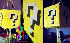 Piñata Cubo mario bros