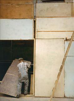 Mondrian Worker, 1954 •