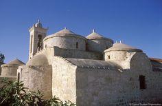 Byzantine Church, Geroskipou Agia Paraskevi, Cyprus.