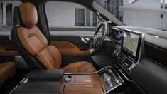 The 2020 Lincoln Navigator luxury SUV brings more standard tech and safety features, more luxury, and more style in the form of three Monochromatic styling packages. New Lincoln, Lincoln Mkx, Mid Size Sedan, Lincoln Aviator, Jaguar Xe, Car Themes, Car Storage, Cadillac Escalade, Luxury Suv