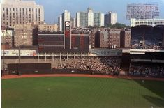 Old Yankee Stadium In Color 1960's   by Photoscream