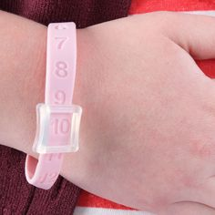 The Kick Counting Wristband is a Wearable to Monitor Baby Kicking #baby trendhunter.com