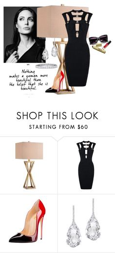"""There is nothing more beautiful than a  little black or red Dress!"" by sheika214 ❤ liked on Polyvore featuring Plukka"