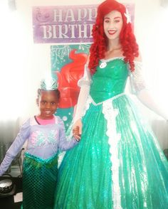 Raymah had the princess party of her Dreams. Happy 5th Birthday Princess. #bdaygirl #princess #party #mermaid