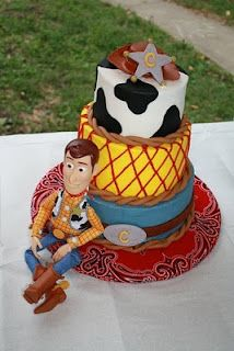 Woody (Toy Story) Cake