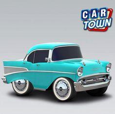 ¡Juega ahora a Car Town para agarrar el Chevy Bel Air 1957!         ¡Vuelve una vez más en Car Town uno de los autos mas icónicos de todos los tiempos! ¡Ten hoy este bello clásico y completa la Colección de Íconos!    24/09/2012