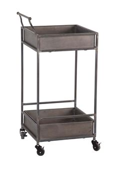 Greenock Metal Cart Table