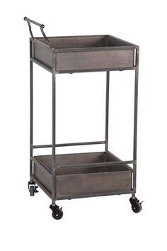 Metal Cart Table.
