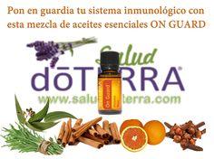 Pon tu sistema Inmunologico en guardia con la mezcla de #aceitesesenciales #onguard #doterra y de manera #natural