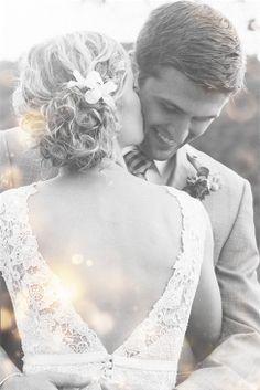 love that it focuses on the groom
