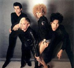 The Cramps in color - wow! Sound Of Music, Good Music, Under The Wire, Abbott And Costello, Color Wow, The Cramps, Gothabilly, Rock Of Ages, The New Wave