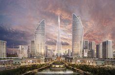 Santiago Calatrava Reveals New Details About Dubai Observation Tower,Courtesy of Santiago Calatrava
