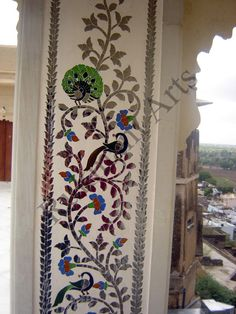 Tikri [Handi / thikri / Thekri / Thikkari] Mirrors and colored Glass Art Work