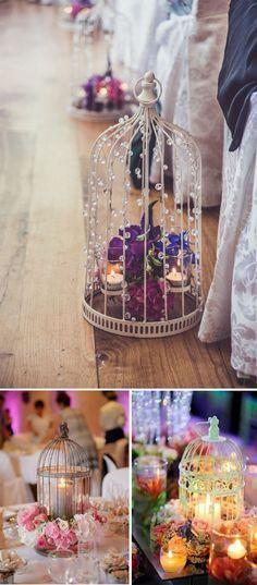 27 centros de mesa para bodas consigue una boda de cuento - Como decorar velas ...