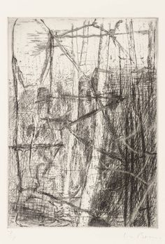 Christopher Le Brun Untitled From Fifty Etchings 1990 Etching on paper 176 x 130 mm