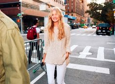 Elsa's all smiles #NYCLove #VSPINK