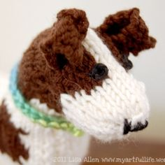 Free Knitting Pattern Jack Russell Dog : 1000+ images about knit and crochet toys on Pinterest ...