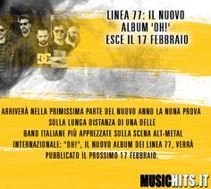 Nuovo album in uscita a Febbraio per i +Linea Settantasette !