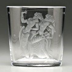 VIKTOR DONOVAN: ENGRAVED SWEDISH GLASS AT ITS VERY BEST