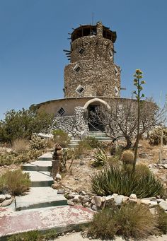California Historical Landmarks -- Imperial County -- Desert View Tower (built 1928). I visited in the 1990's, LH.