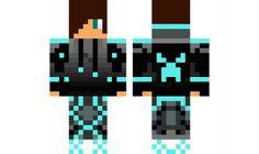 Minecraft Skins: Diamond Creeper in next update gonna have this . Minecraft Skins Blue, Cool Minecraft, Mc Skins, Xmax, Wreck This Journal, 6th Birthday Parties, Good Skin, Pixel Art, Cool Stuff