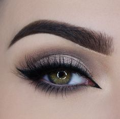 shimmery soft smokey eye ~ we ❤ this! moncheribridals.com