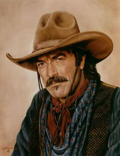 So many good westerns ... he just looks and sounds authentic ....