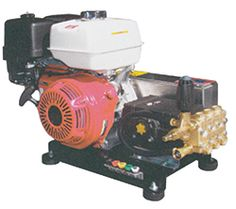 General Pump / Honda Gas Engine Pressure Washer Belt Driven:: MAX 4.0 GPM @ 4000 PSI, General Pump, Skid Model - Dultmeier Sales