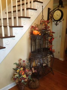 Fall Birdcage
