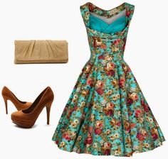 50's Garden Party Flower Standard outfit