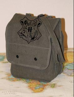 Harry Potter House Crest Military Style Shoulder Bag