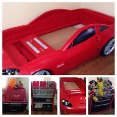 Swa-Rai Mommy: My Son's Corvette Inspired Bedroom #boys #decor #home #cars