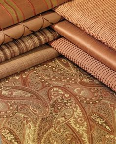 Great fall color palette via Softline Home Fashions