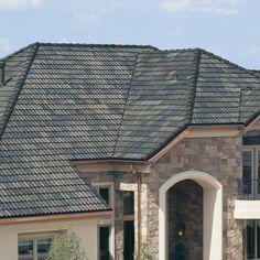 Boral Roofing Concrete Tile Hartford Slate Charcoal Brown ...