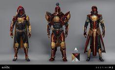 ArtStation - Destiny 2: Curse of Osiris: Faction Gear Refresh, Dorje Bellbrook Male Steampunk, Steampunk Armor, Futuristic Armour, Futuristic Art, Destiny Titan Armor, Destiny Warlock, Armor Concept, Concept Art, Fantasy Character Design