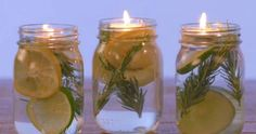 Learn how to make your own mosquito repellant at home! With this fun DIY bug repellant in a mason jar, you won't be bored and you won't get bitten! Mason Jars, Pot Pourri, Pots, Limes, Clean House, Chandeliers, Cleaning Hacks, Helpful Hints, Diy And Crafts