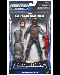 #Marvel #Legends #Mandroid #Series #The #Winter #Soldier  #Captain #America #Hasbro #actionfigures #action #figures #figuras #ação #heróis #Heroes #comics #Quadrinhos #avengers #vingadores #toys #movies