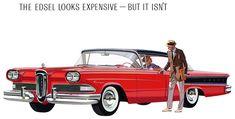 """The Edsel looks expensive--but it isn't"": The 1958 Edsel Ranger"