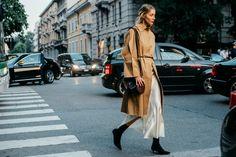 Sokak Stili: 2017 İlkbahar/Yaz Milano Moda Haftası 1. ve 2. Gün
