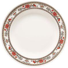 Garden 6 inch Round Plate Melamine/Case of 12