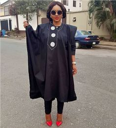 PHOTOS: Mercy Aigbe steps out stylishly in agbada
